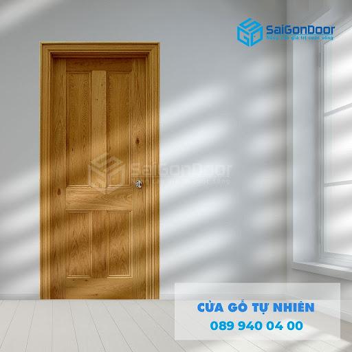 Giá thành của sản phẩm cửa từ gỗ tự nhiên bị ảnh hưởng bởi nhiều yếu tố